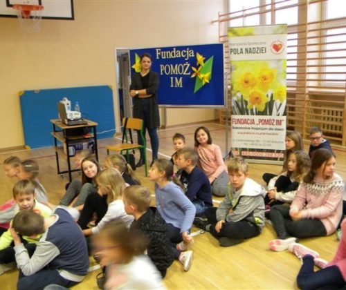 Lekcje edukacyjne w Szkole Podstawowej nr 16