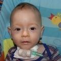Bartuś urodził się w lipcu 2007 roku. Pod opieką Hospicjum był 372 dni.