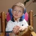 Rafał urodził się w 2004 roku. Pod opieką Hospicjum był 377 dni.