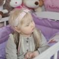 Hania urodziła się w lutym 2011 roku. Pod opieką Hospicjum była 613 dni.
