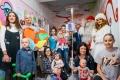 Święty Mikołaj w Klinice Onkologii