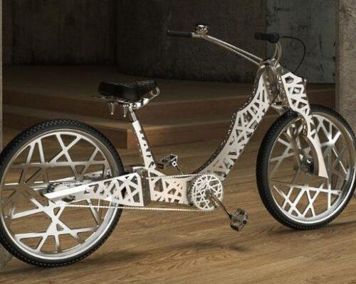 """Niepowtarzalny rower inauguruje Miesiąc Dobroczynności Fundacji """"Pomóż im"""" [zdjęcia, wideo]"""