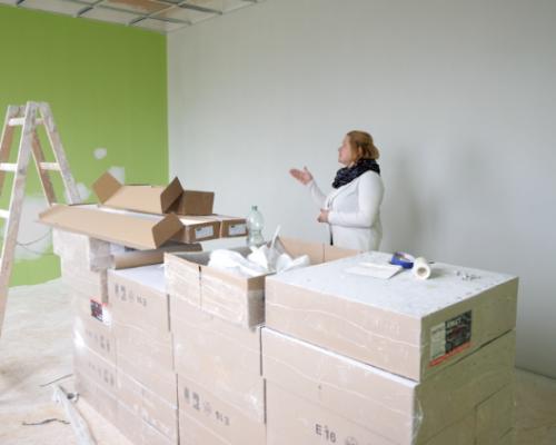 """Fundacja ,,Pomóż Im"""" buduje świetlice w Domu Samotnej Matki w Nieławicach"""