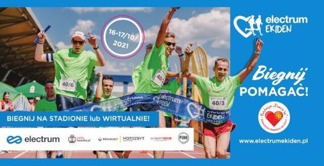 Electrum Ekiden 2021 – Biegnij pomagać!